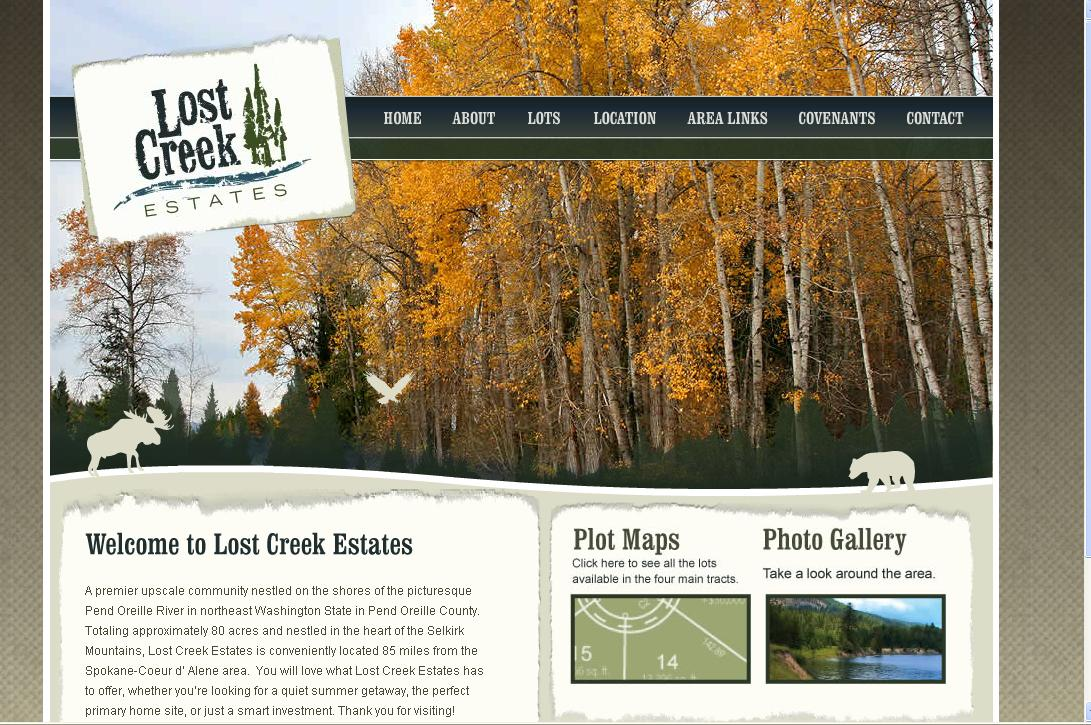 Lost Creek Estates Official Web Site